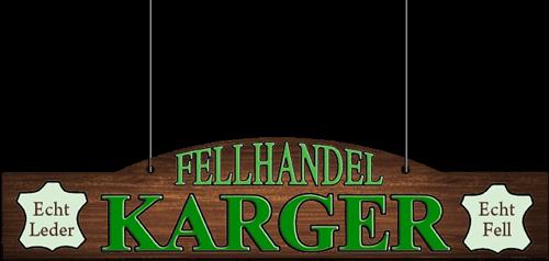 Fellhandel Rudolf Karger - Logo
